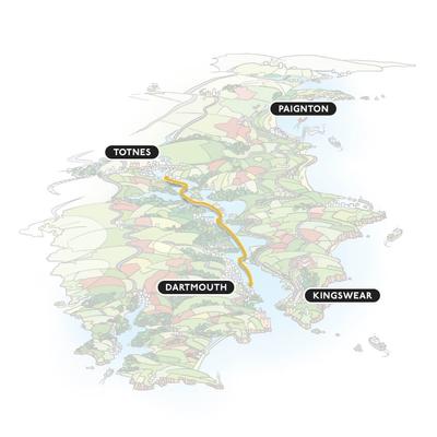 Dartmouth to Totnes Cruise