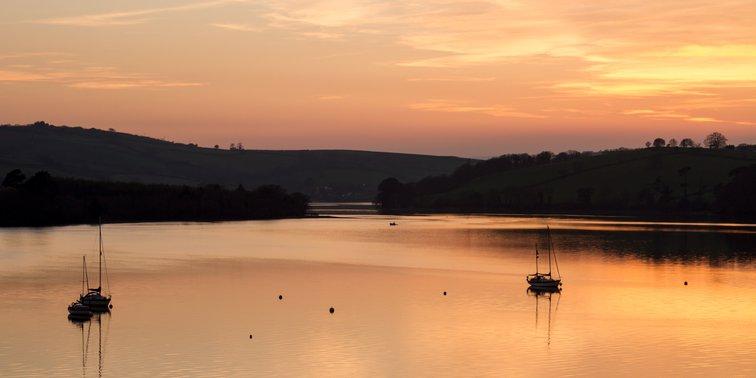 River Dart late evening