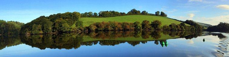 River Dart towards Totnes